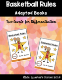 Basketball Rules - Adapted Book