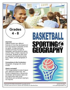 Basketball SPORTING GEOGRAPHY