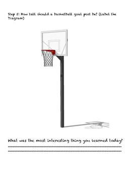Basketball Scavenger Hunt - Math