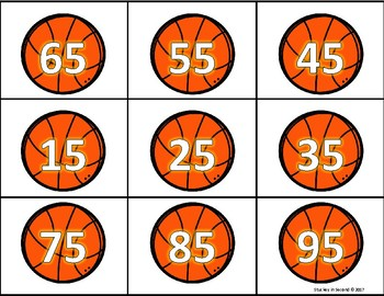 Basketball Score Two Digit Addition Top It