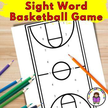 Basketball Sight Word Game/Basketball Alphabet Game