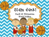 Basketball Slam Dunk -Nonsense words game
