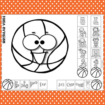 Basketball Speech Therapy Craft Activity