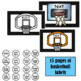 Basketball/Sports Labels
