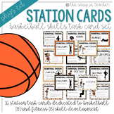 Basketball Station Task Cards