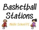 Basketball Stations - Printable and Editable in Google Slides!