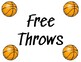 Basketball Stations - Printable and Editable in Google Slides!