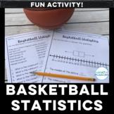 Basketball Statistics Box Plot Activity