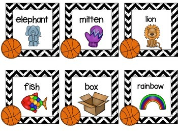 Basketball Syllables  {FREEBIE}