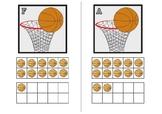 Basketball Teen Ten Frames