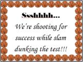 Basketball Testing Sign