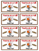 Basketball Testing Treat Labels: Full Color and Ink Saving