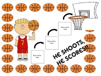 Basketball Theme Reward Chart