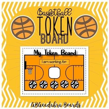 Basketball Theme Token Board