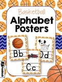 Basketball Sports Themed Alphabet Letter Posters