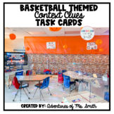 Basketball Themed Context Clues Task Cards (Digital Option