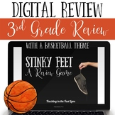 Basketball Themed Math Review - Digital Stinky Feet