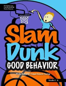 Basketball Themed Postive Classroom Behavioral System (grades 2-5)
