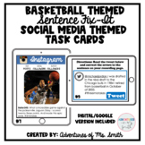 Basketball Themed Sentence Fix-Its (Digital)