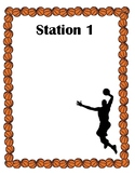 Basketball Themed Stations