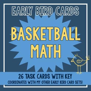 Basketball Themed Task Cards