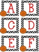 Basketball Themed Uppercase and Lowercase Alphabet Cards