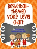 Basketball Themed Voice Level Chart
