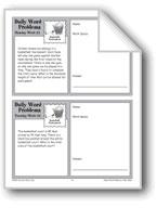 Basketball Tournament (Grade 6+ Daily Word Problems-Week 24)