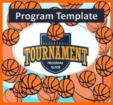 Basketball Tournament Program Guide