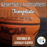 Basketball Tournament Template - Physical Education - Edit