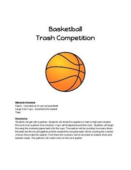 Basketball Trash - Fractions