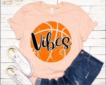 Basketball Vibes svg grunge ball svg mom svg YOUR TEAM Mom Vibes vintage 1002s