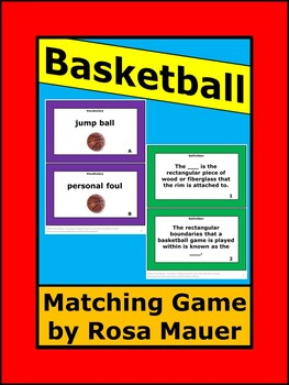 Basketball Task Cards