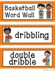 Basketball Word Wall Display