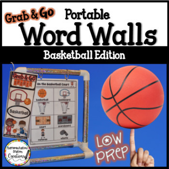 Basketball Word Walls: Sports Words, Printables, Thematic Writing Paper