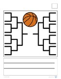 Basketball Bracket and Writing Paper