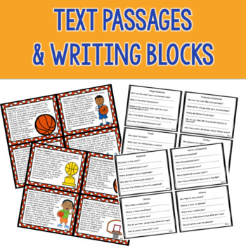 Basketball for Speech & Language Therapy - Upper Elementary