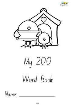 My Word Book Covers - Freebie