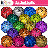Basketball Clip Art - Sports Equipment Clip Art - Physical