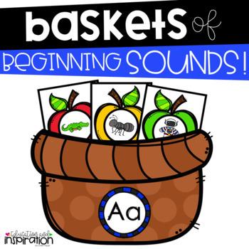 Baskets of Beginning Sounds