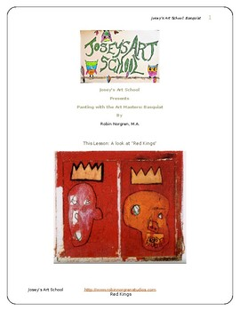 Basquiat Inspired Art Lesson Buildings Teach Grades K-6 Art History and Project