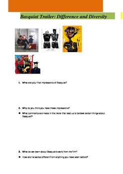 Basquiat Worksheet