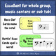 Bass Clef Battlin' Basses {Interactive Music Game for revi