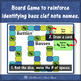 Bass Clef: Battlin' Basses- a board game for reviewing note names