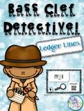 Bass Clef Detective:  Ledger Lines