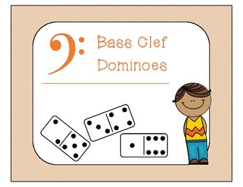 Bass Clef Dominoes