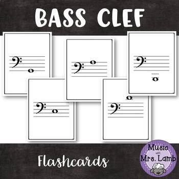 Bass Clef Flashcards