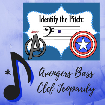 """Bass Clef Jeopardy - """"Avengers"""" Assemble Edition"""