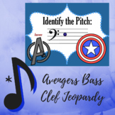 "Bass Clef Jeopardy - ""Avengers"" Assemble Edition"