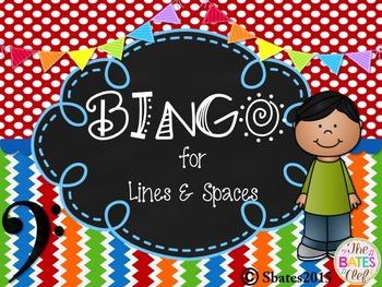 BINGO Bass Clef Line/Space